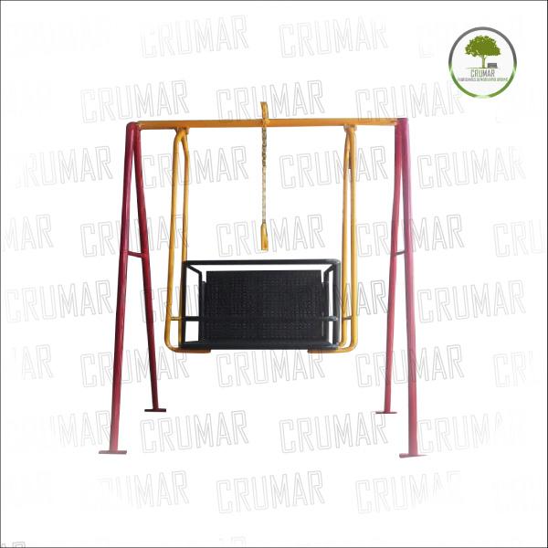 Modelo cm 006 juego columpio capacidades diferentes - Mobiliario de gimnasio ...